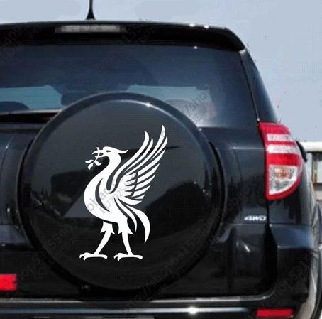 Liverbird Sticker For Cars Liverpool Football Club Pinterest - Cool decal stickers for cars