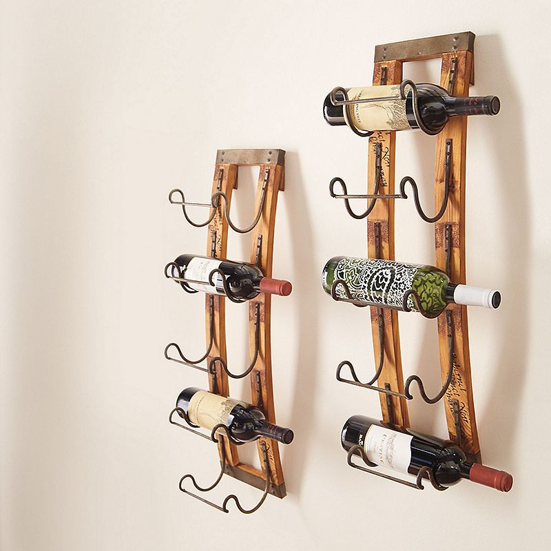 Bed Bath And Beyond Towel Rack Amusing 5Bottle Hanging Wine Rack  Hanging Wine Rack Wine Rack And Towels 2018