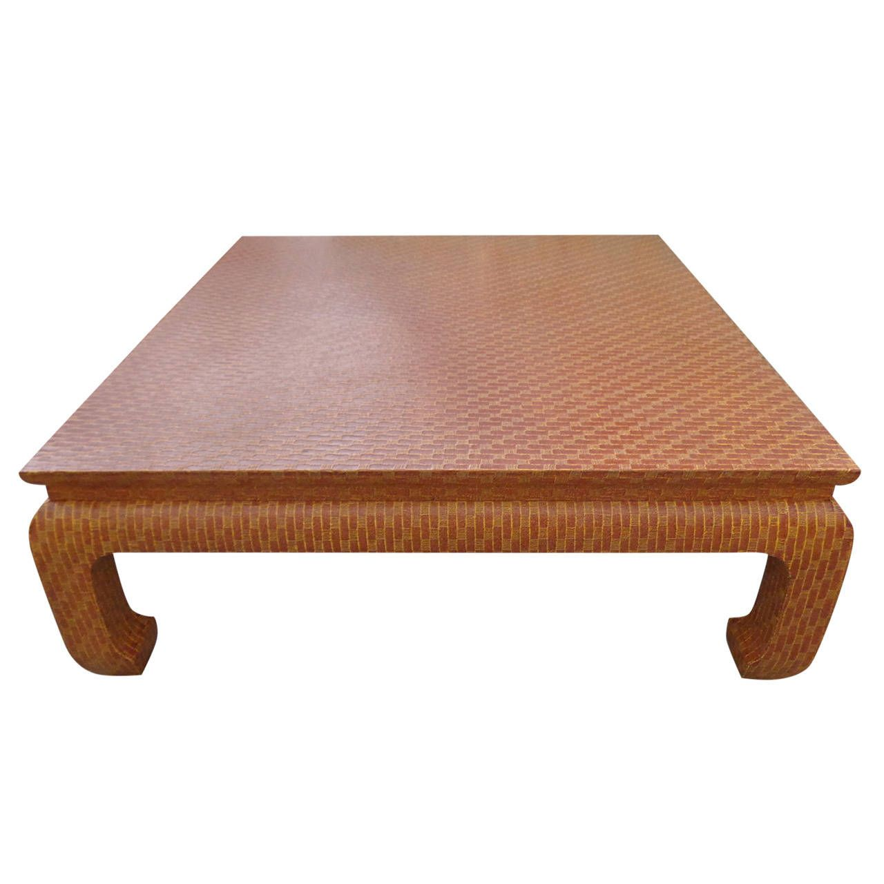 Baker Wrapped Coffee Table Table Table 19 Cocktail Tables