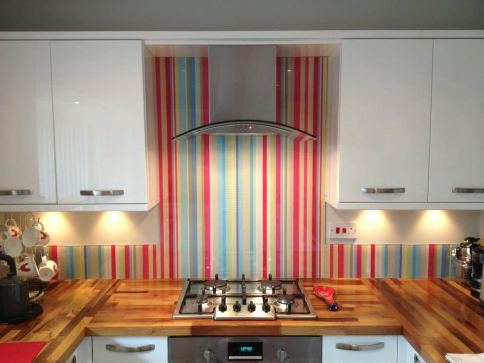 Placas de Vidrio Impresas para Cocina2   Decoracion   Pinterest ...