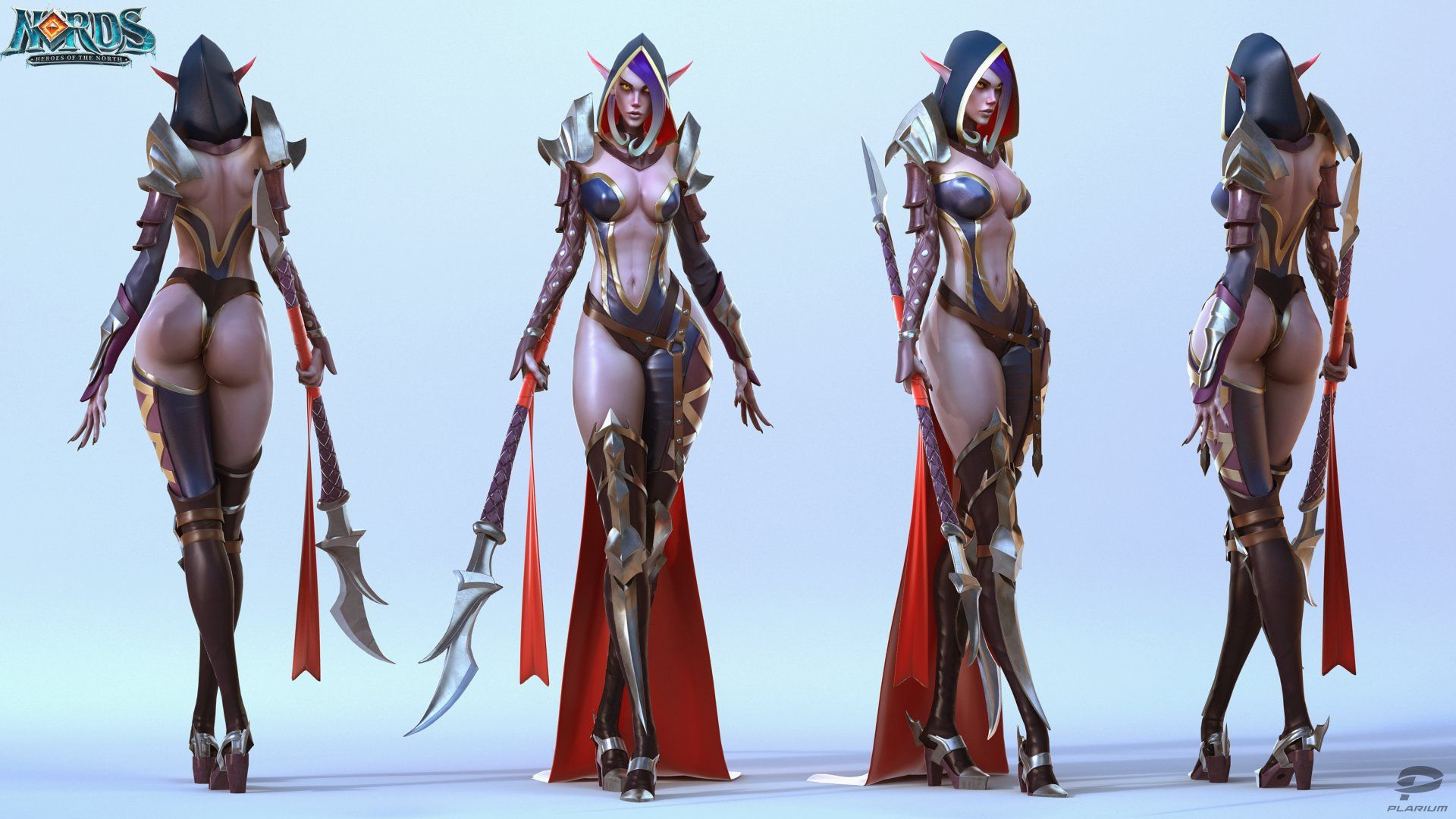 Female video game characters naked