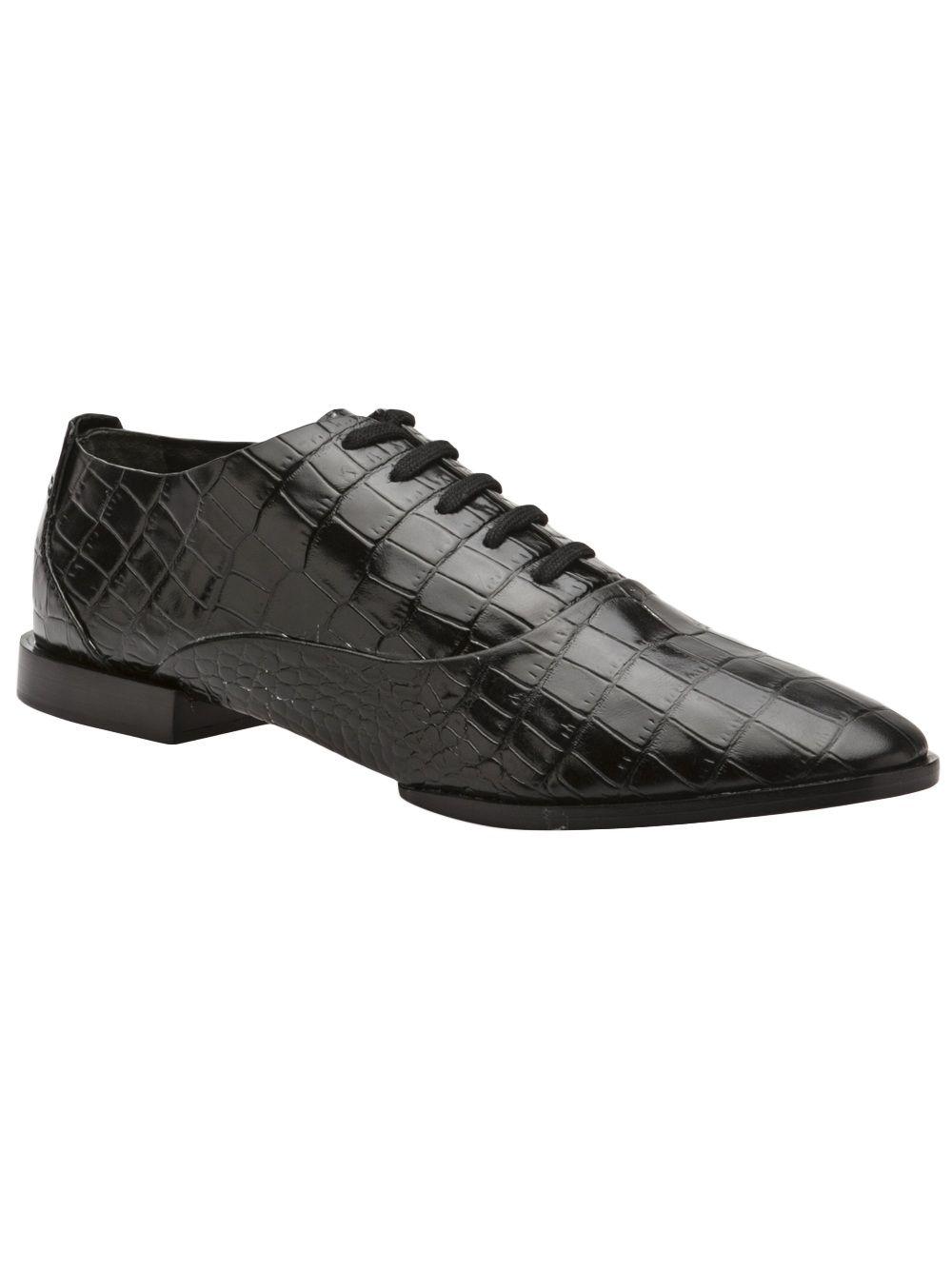 Alexander wang ingrid laceup oxford zoe shoes pinterest