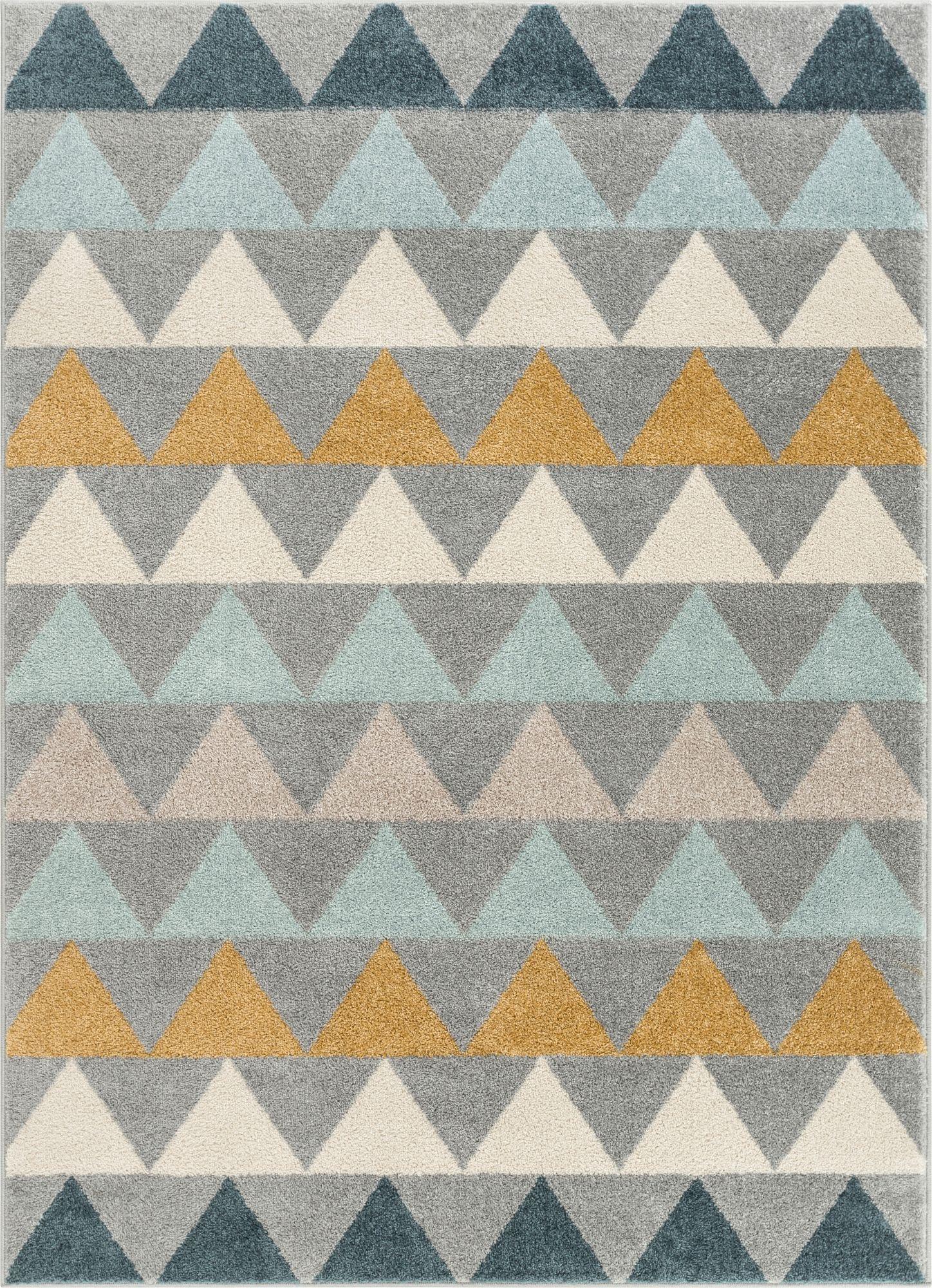 Nova Grey Modern Scandinavian Rug Scandinavian Rug Well Woven Grey Geometric Rug