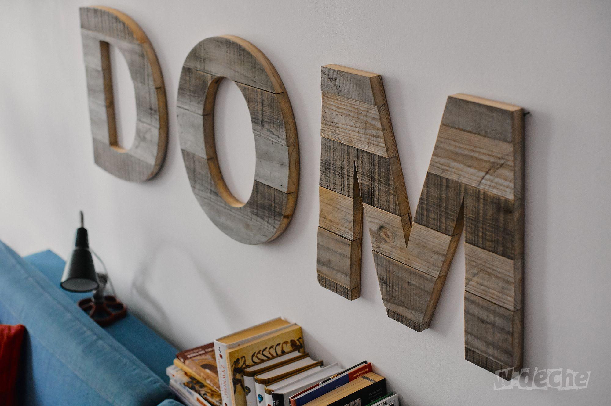 Pin On Drewniane Litery Napisy