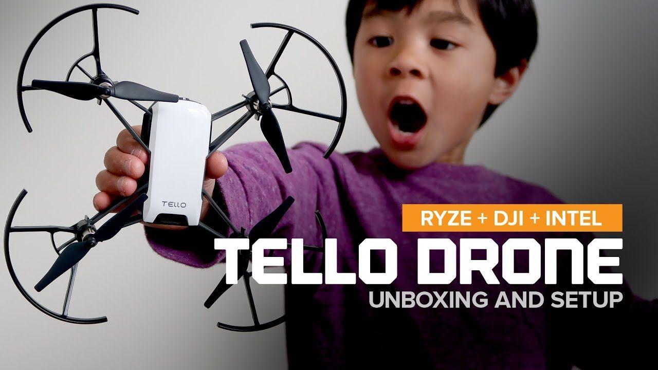 Pin by Cameras Direct on DJI Tello | Dji drone, Robot