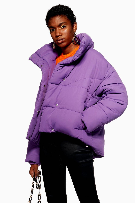 Nerds Wrap Puffer Jacket Jackets Coats Clothing Topshop Usa [ 1530 x 1020 Pixel ]