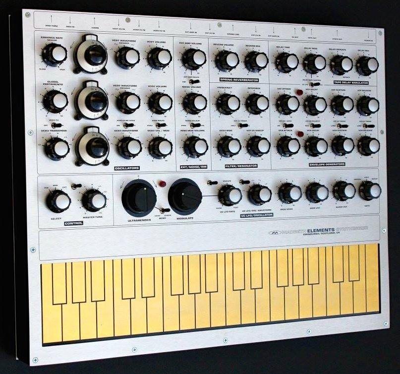 Ken MacBeth Intros The New MacBeth Elements Analog Synthesizer   art