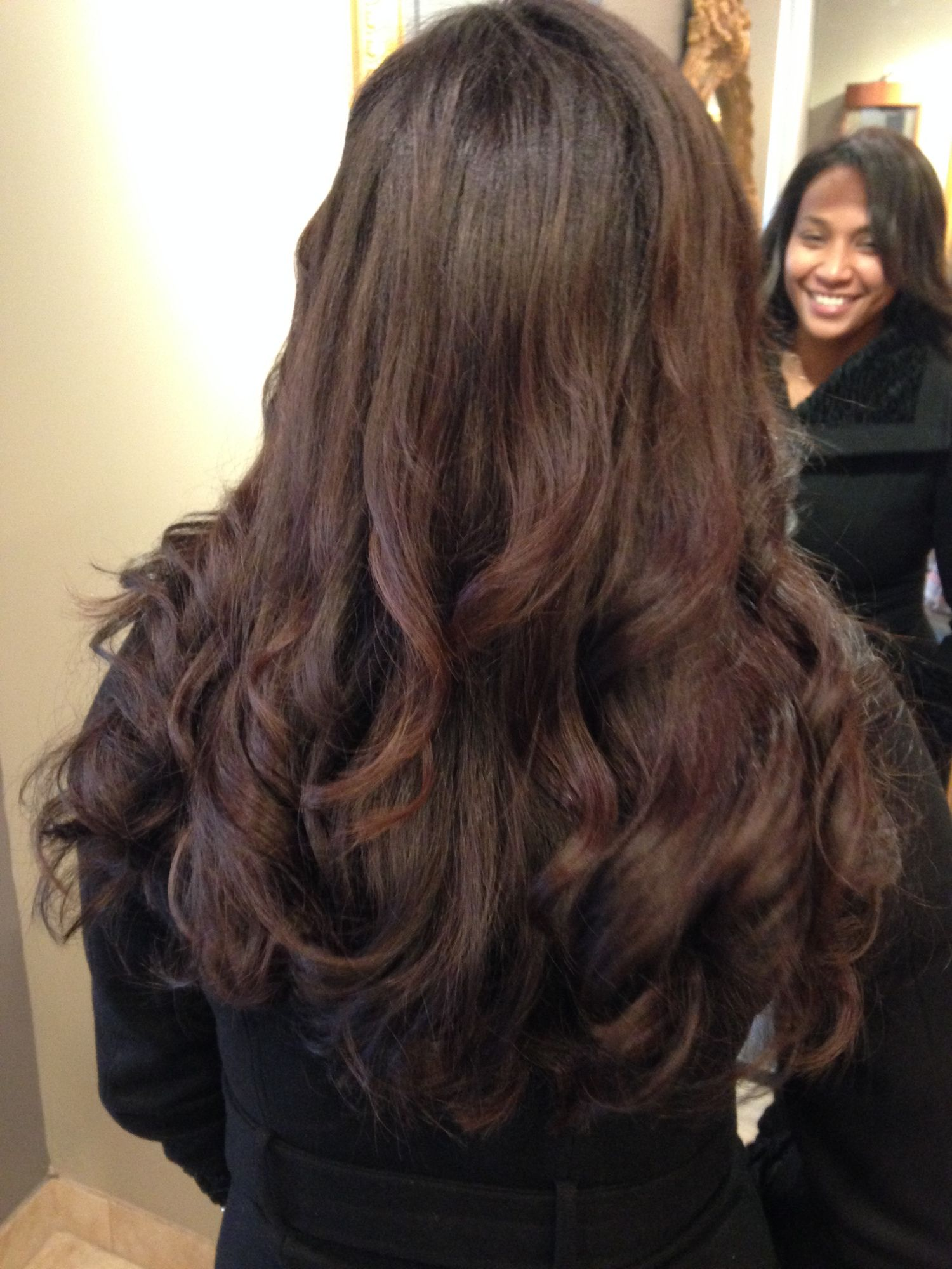 Keratin Treatment With Long Extensions Our Work Only At Salon
