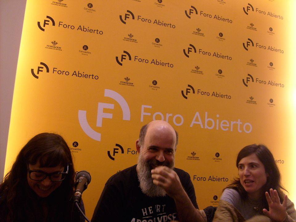 Dos Cuervos, Aventuras Literarias y Hoja de Lata compartieron sus experiencias.   Flickr - Photo Sharing!
