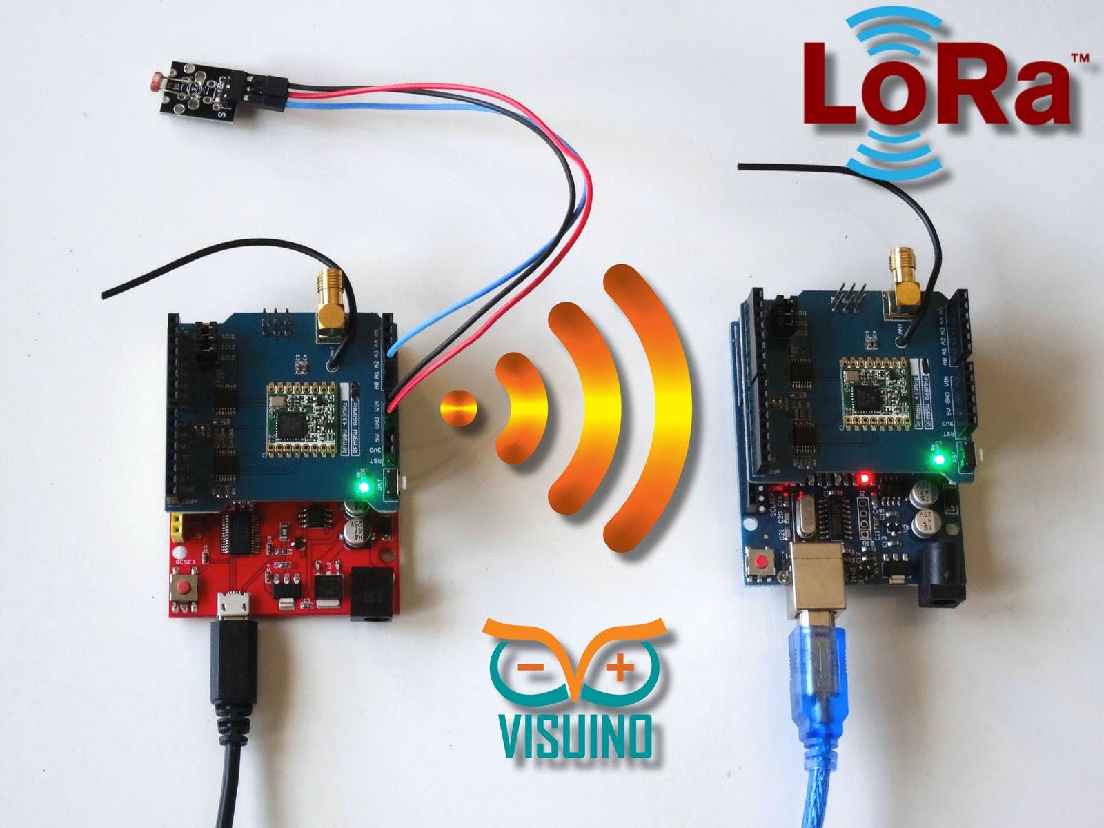 Awesome project: Long Distance Remote Light Sensor With