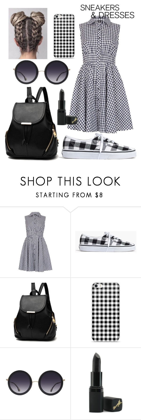 """Untitled #46"" by smurfs-stalker ❤ liked on Polyvore featuring Izabel London, Madewell, Alice + Olivia and Barry M"
