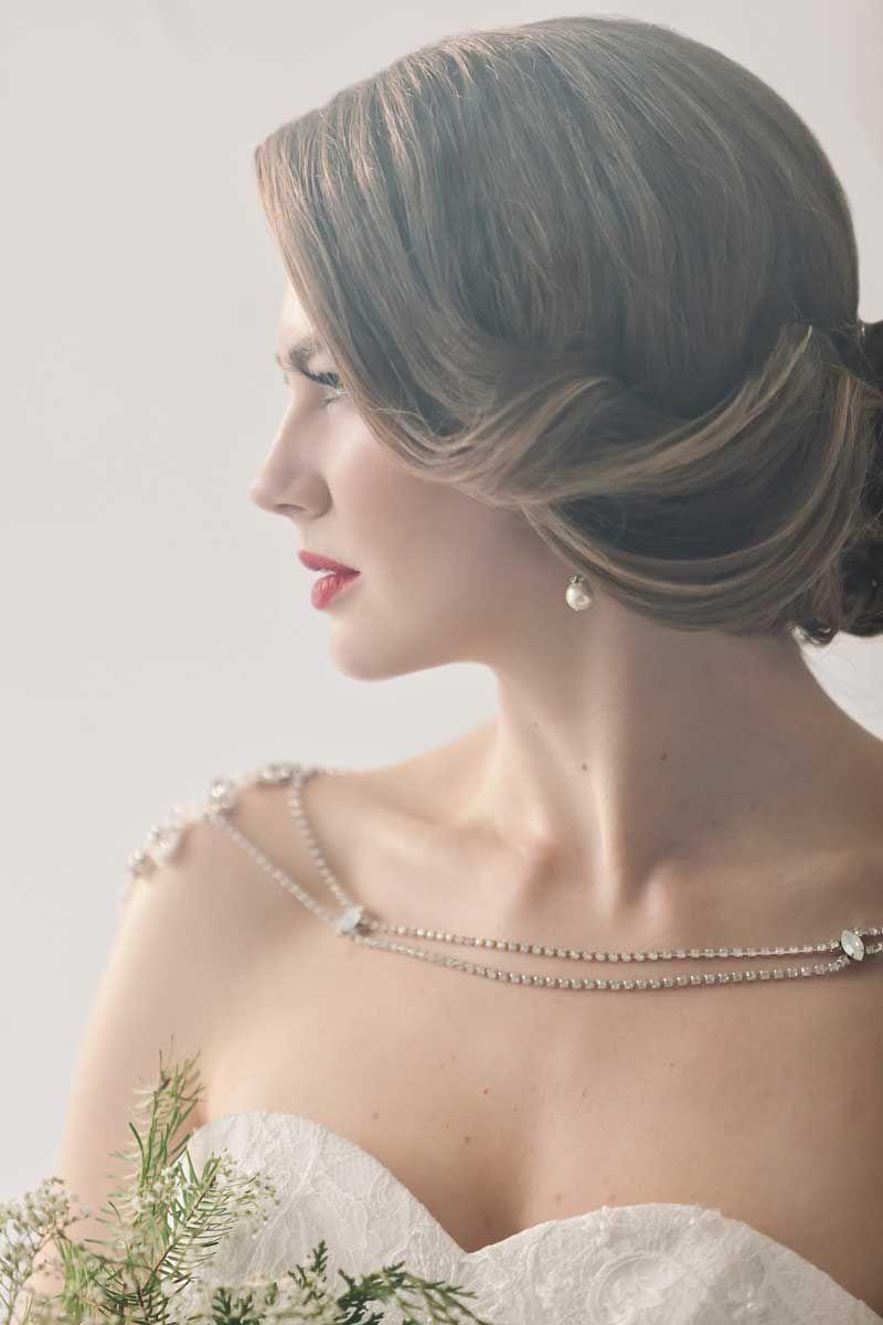 Winter Bridal Beauty Ideas Unique Bridal Jewelry Pinterest