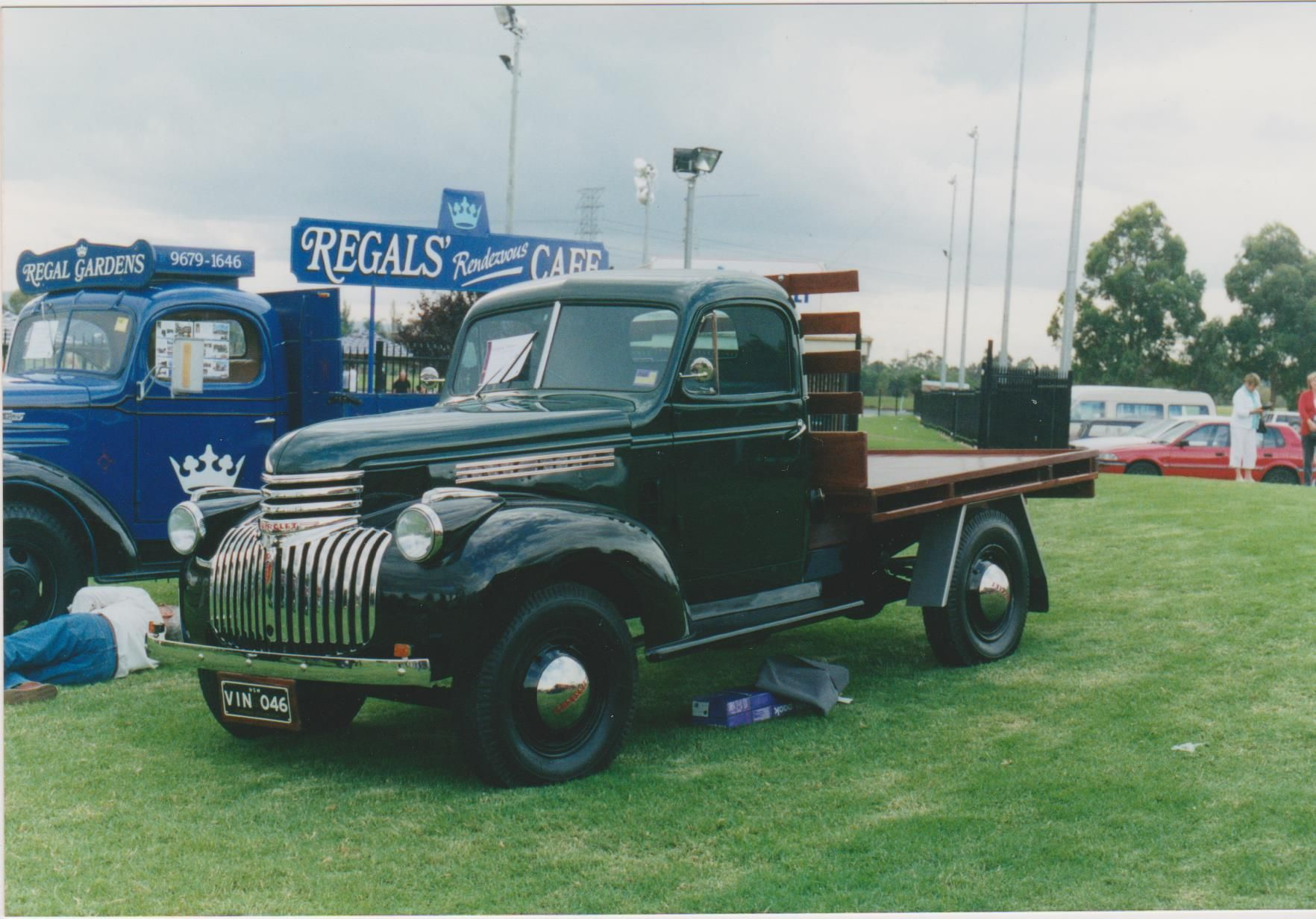 1946 Holdens Body Chevrolet Australian Assembled Series 15 Truck