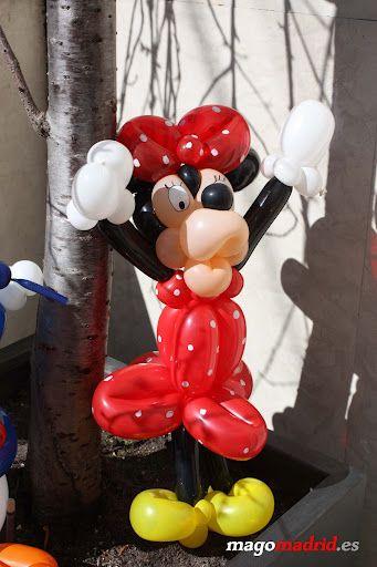 Decoracion globos cumplea os alfonso v 13 minnie http - Decoracion con globos para cumpleanos ...