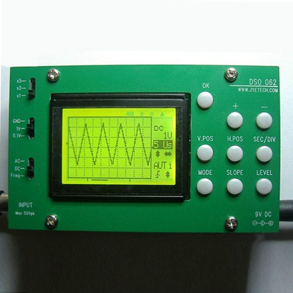 best price hot worldwide lcd screen display diy digital oscilloscope ...