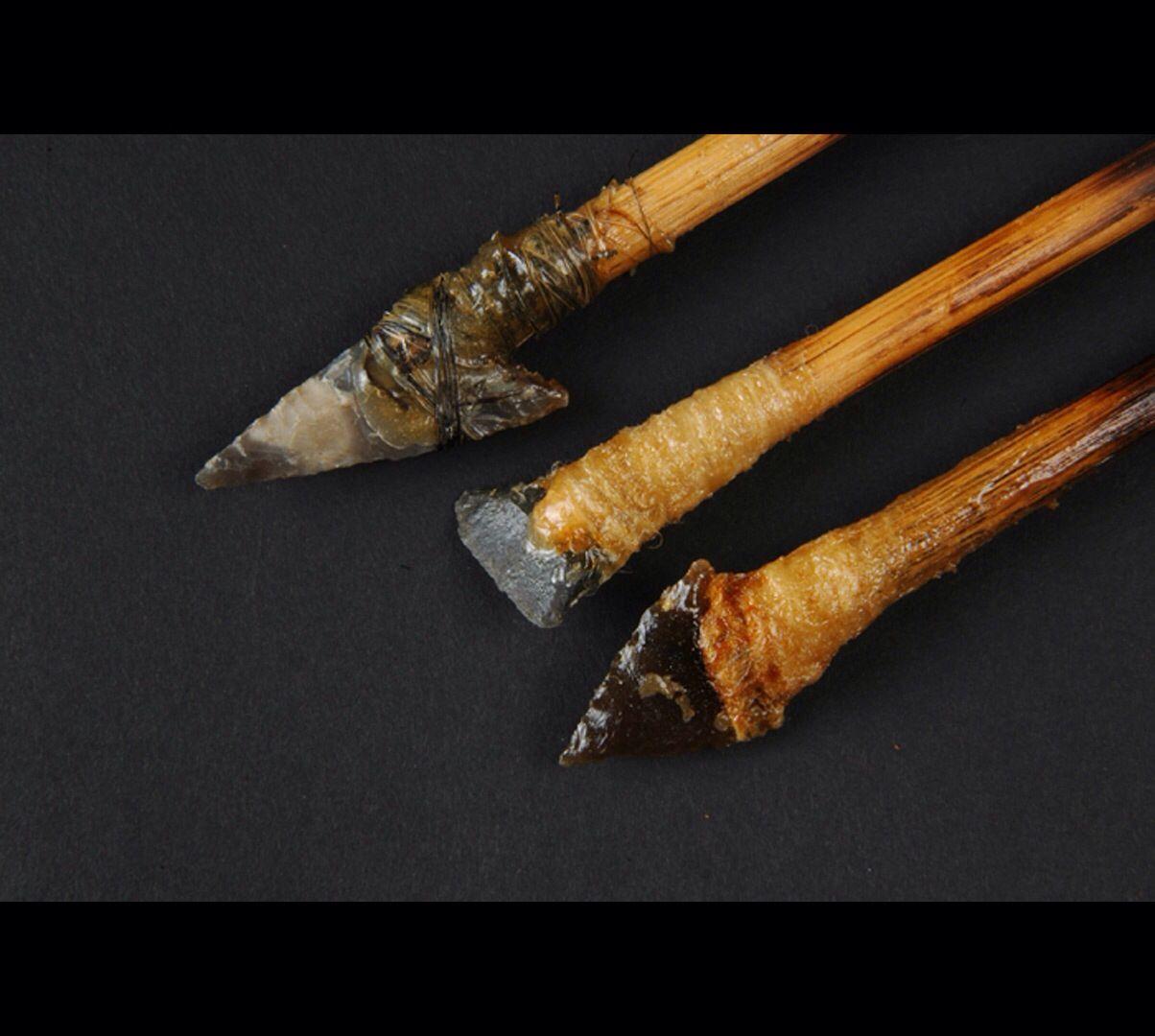 Armatures de flèches. Néolithiques