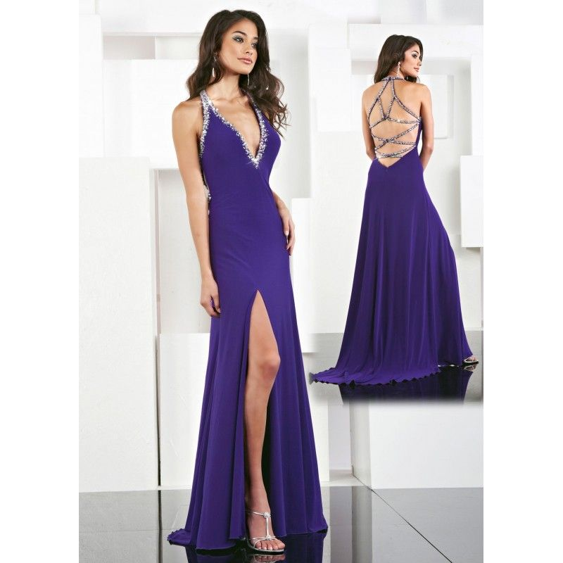 sexy clothes | Dark Purple New Long Sexy Formal or Prom Dress 2012 ...
