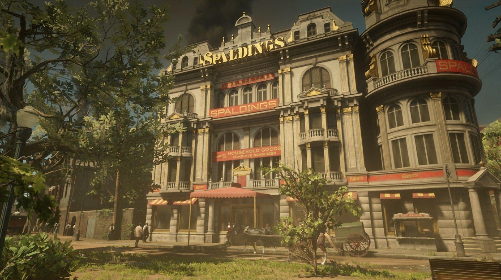 Red Dead Redemption 2 Xbox One Einrib13 Spaldings Saint Denis Bayou Nwa Lemoyne Red Dead Redemption Saint Denis Red Dead Redemption 1