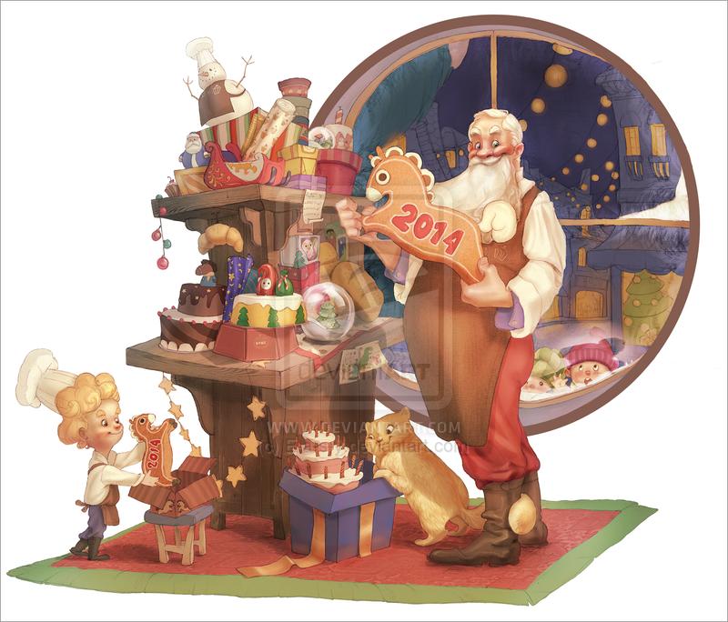 Bushe Christmas by E-a-s-y on DeviantArt