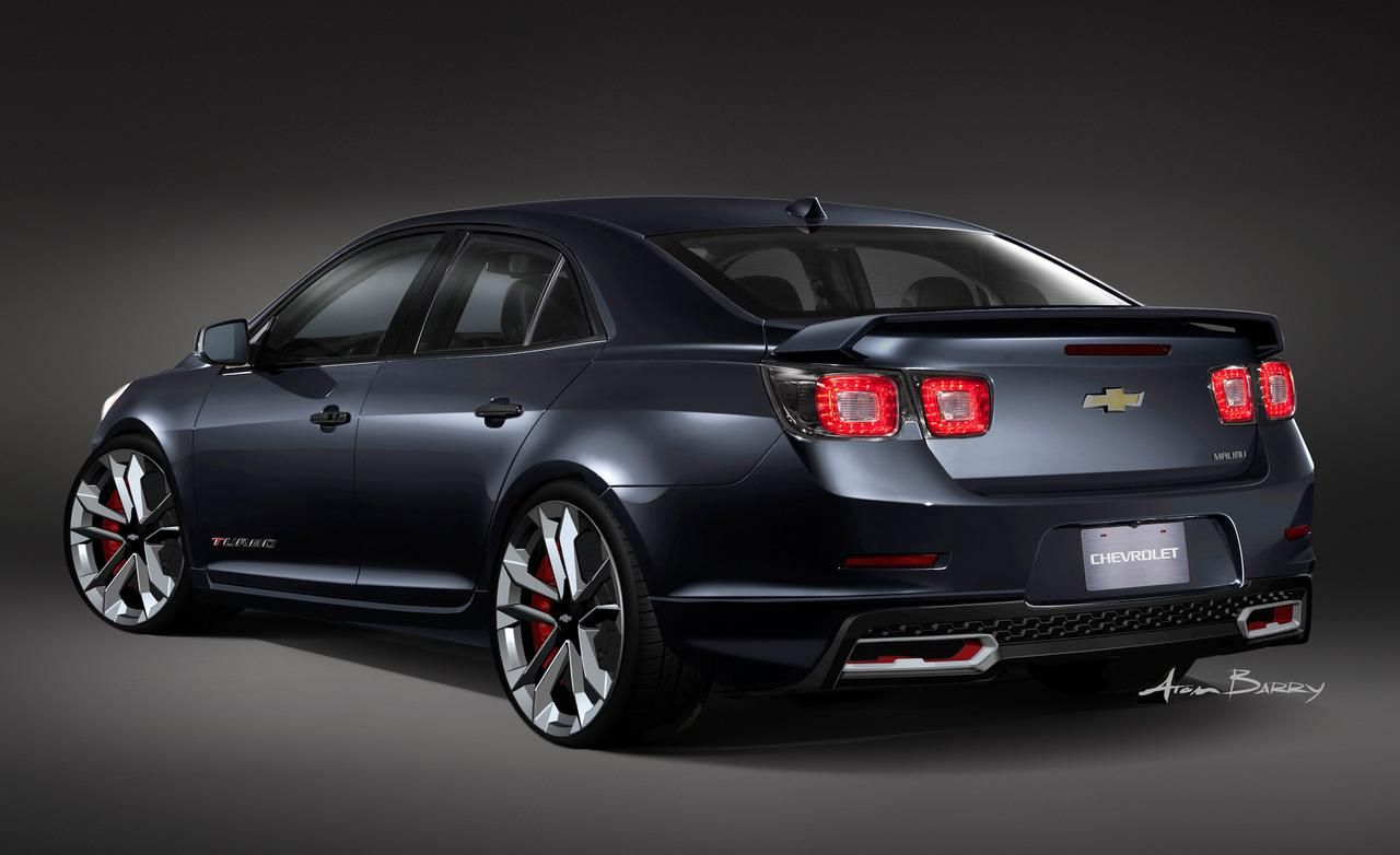 Chevrolet malibu turbo performance concept headed to sema show