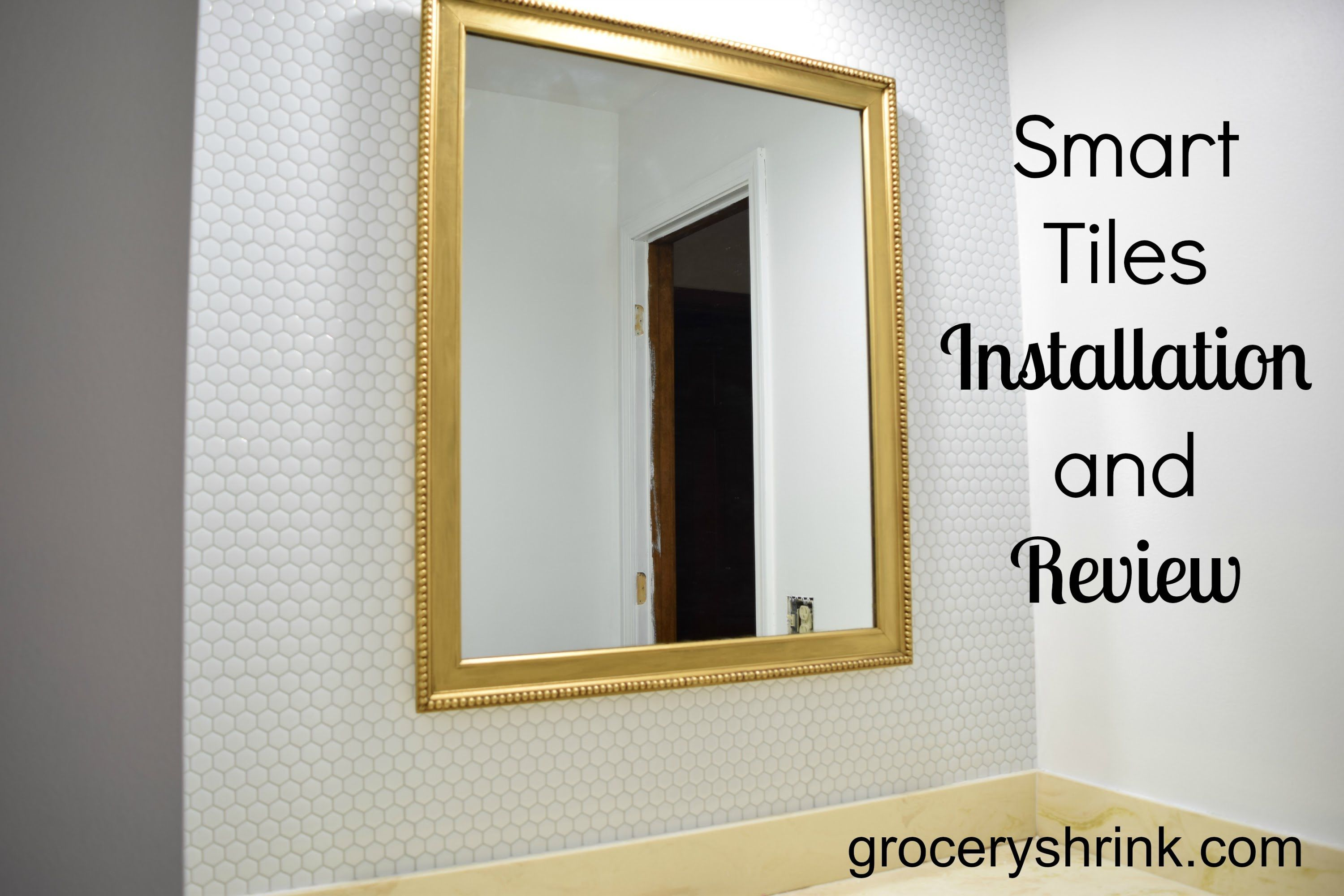 A Bathroom Makeover with Smart Tiles, watch here: https://www ...