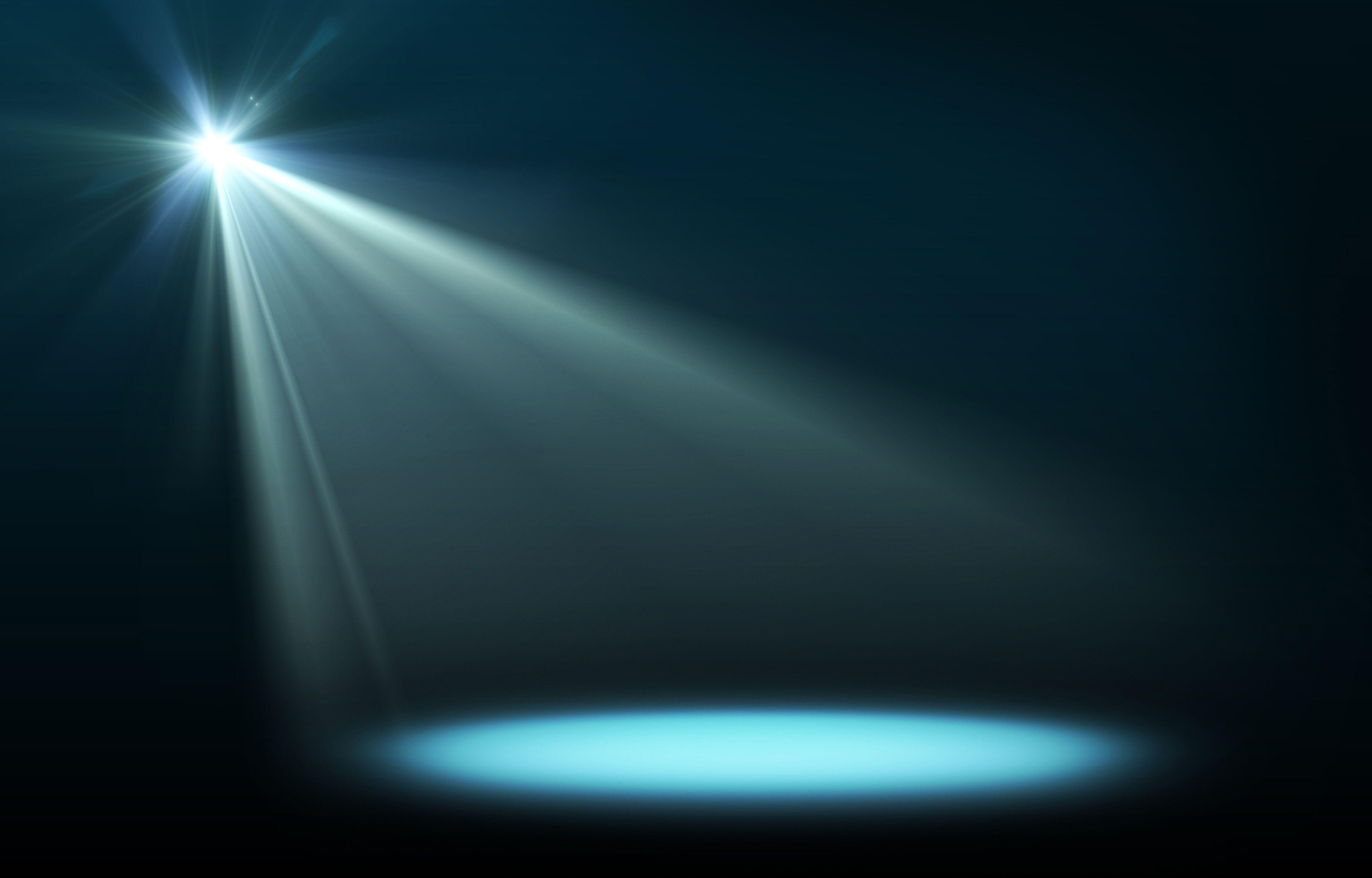 Stage curtains spotlight - Stage Spotlights