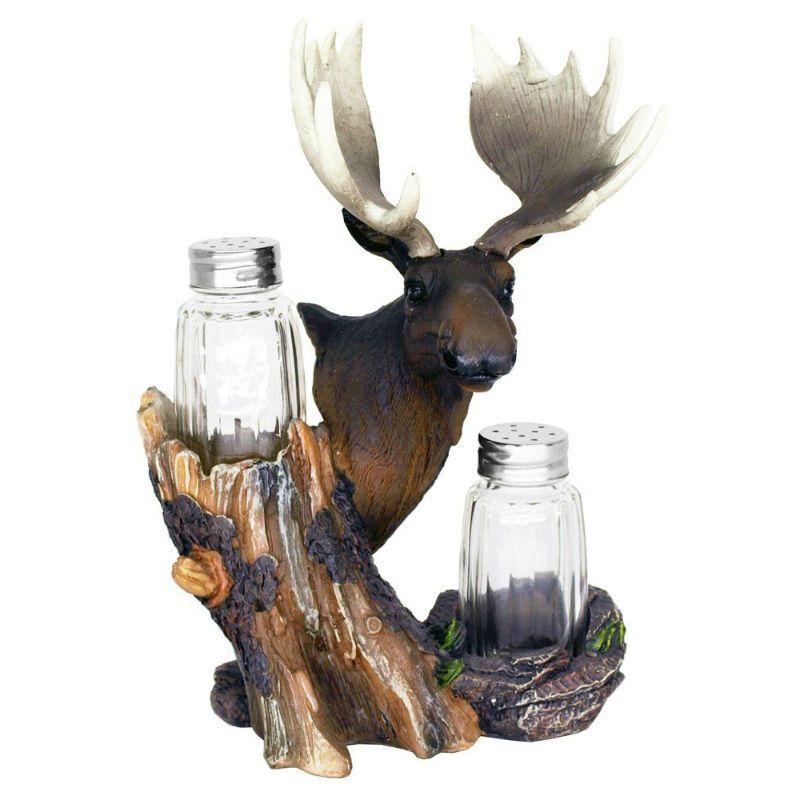 Mangy Moose Salt & Pepper Shakers