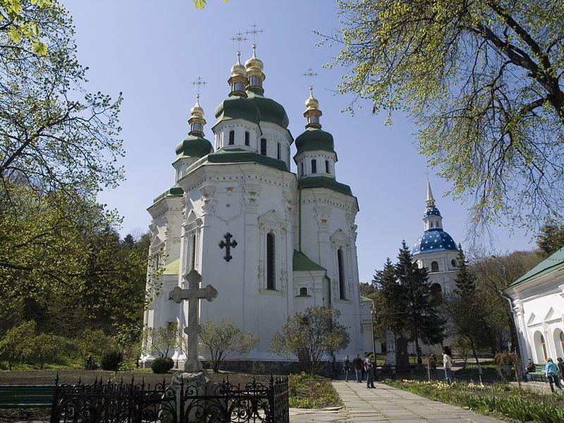 Украина, Киев Выдубецкий монастырь 09.jpg