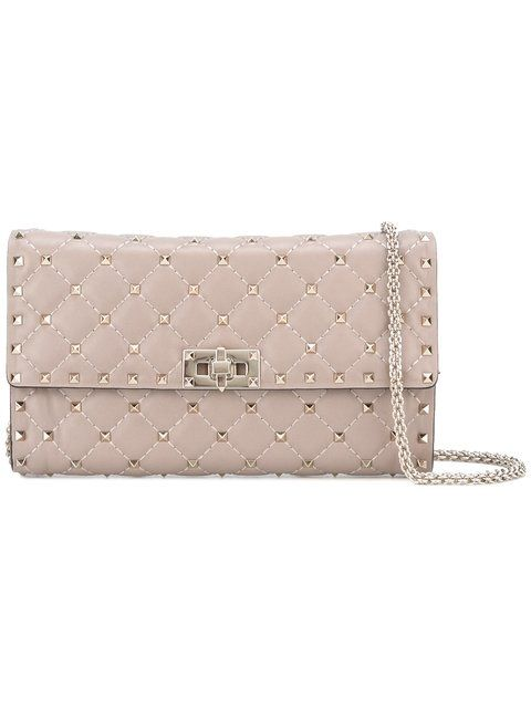 Valentino Garavani Rockstud Spike shoulder bag - Grey Valentino