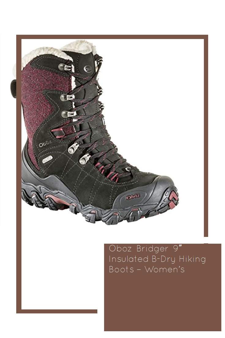 a8d94de1794 Oboz Bridger 9″ Insulated B-Dry Hiking Boots – Women's #new | Shoes ...