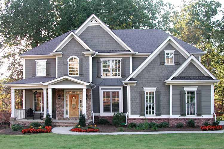 Plan 50624TR: Handsome Traditional House Plan | Traditional House Plans,  Traditional House And Bonus Rooms