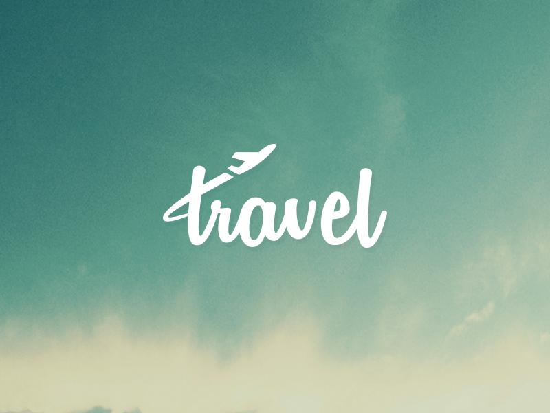 Travel typography collage grafik design corporate for Graphic design studium
