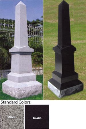 Fancy Obelisk Monument Tombstone In 2019 Grave Monuments