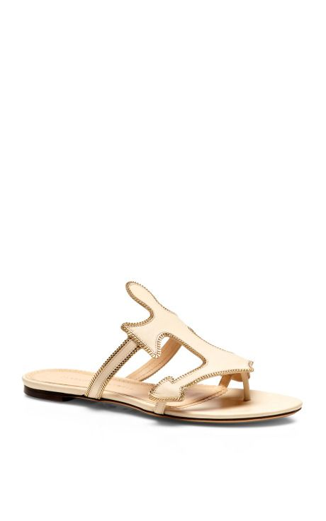 6a08515670 Atlantic Leather Sandals by Charlotte Olympia - Moda Operandi
