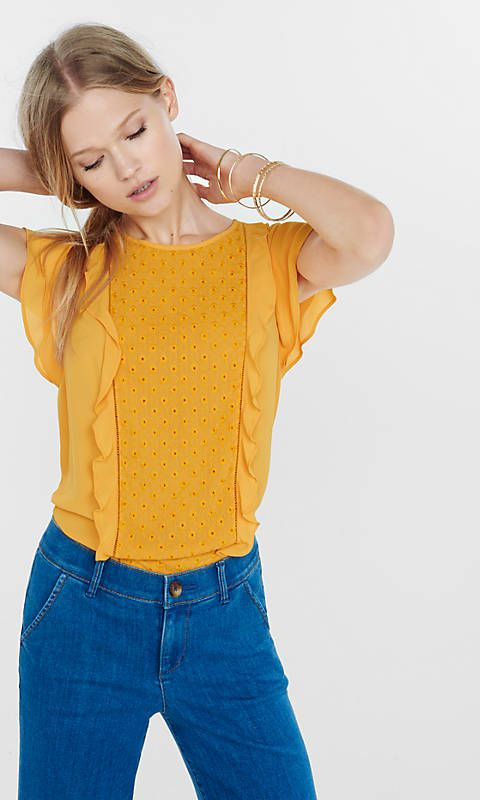 Womens Blouses Express Tops Sweaters Pinterest Casual Styles