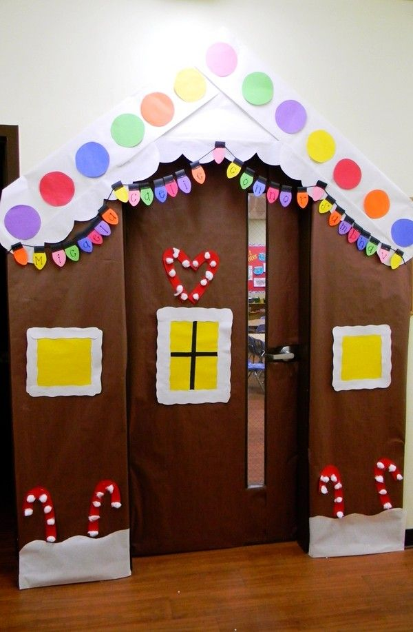 Christmas classroom decorations, Classroom Christmas Door Decorating Ideas, Classroom  Decorations - like a house - Christmas Classroom Decorations, Classroom Christmas Door Decorating