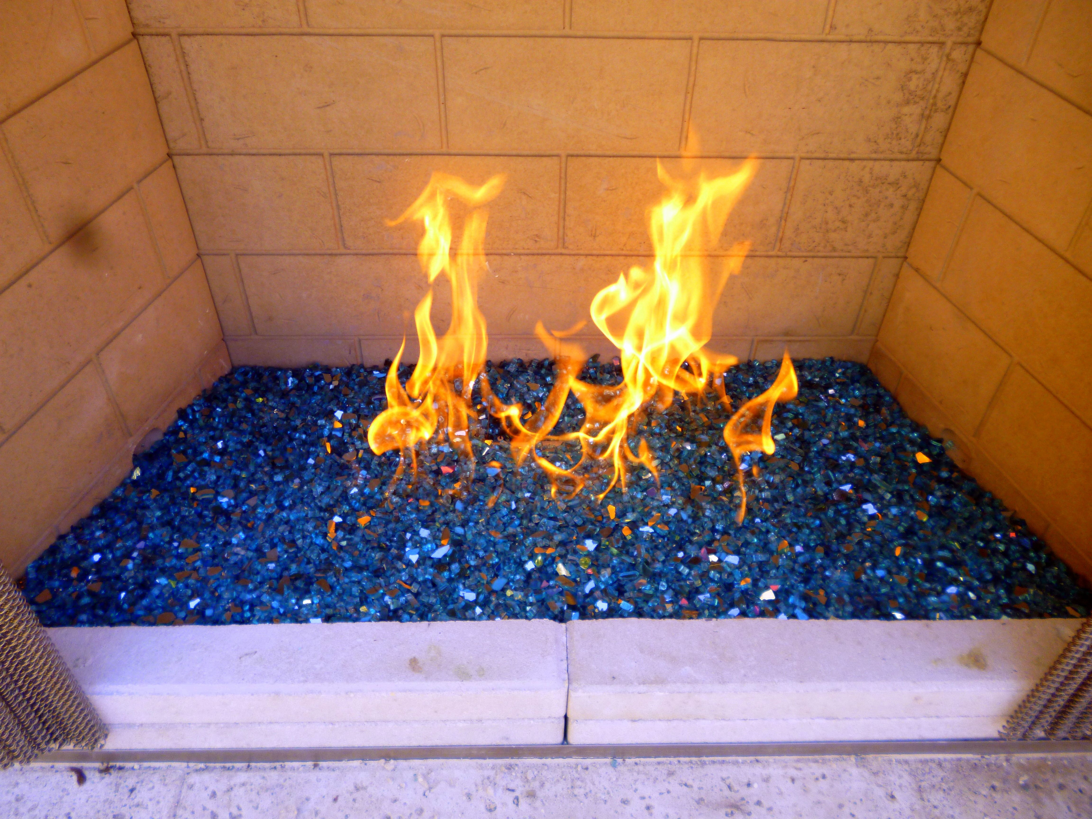 fire on ice stainless tray outdoor gas fire effects pinterest