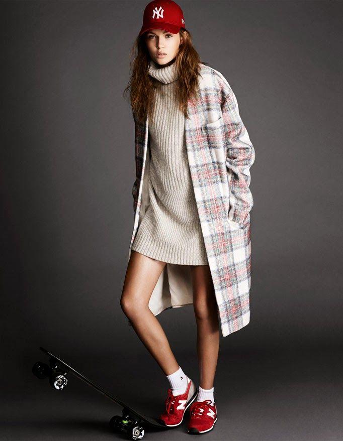Josephine Skriver by Jimmy Backius for Elle Sweden November 2013 : Minimal + Classic