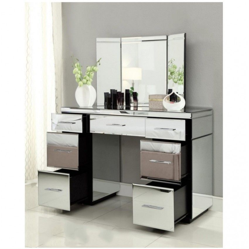 Fancy Dressing Table With Mirror And Drawers Perfect Dressing Table With Mirror And Drawers 89 On Livin Desk With Drawers Vanity Desk 7 Drawer Dressing Table