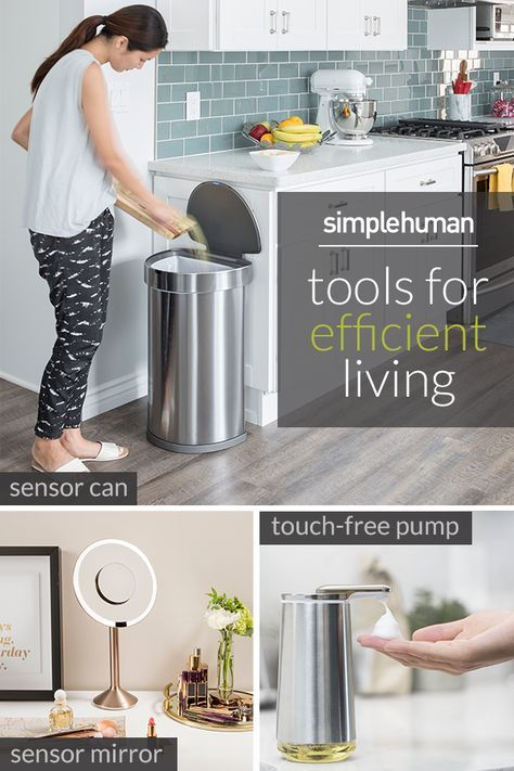 Want a home that simply runs smarter? Simplehuman has the