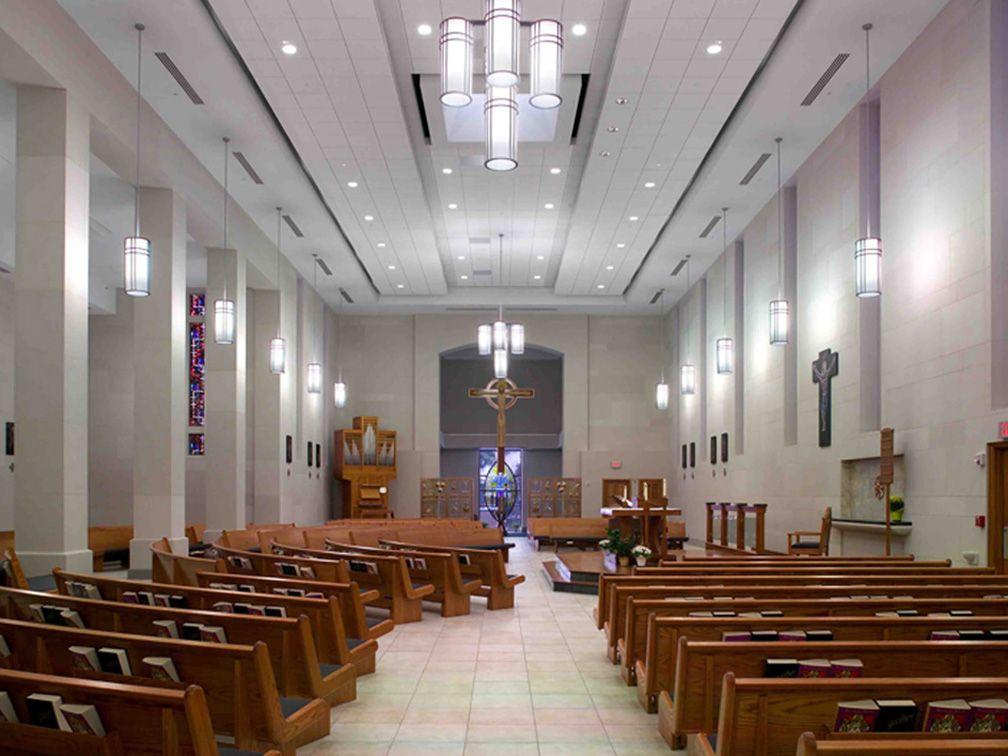 Chapel Of Christ The King St Ambrose University Davenport Iowa Effective Church