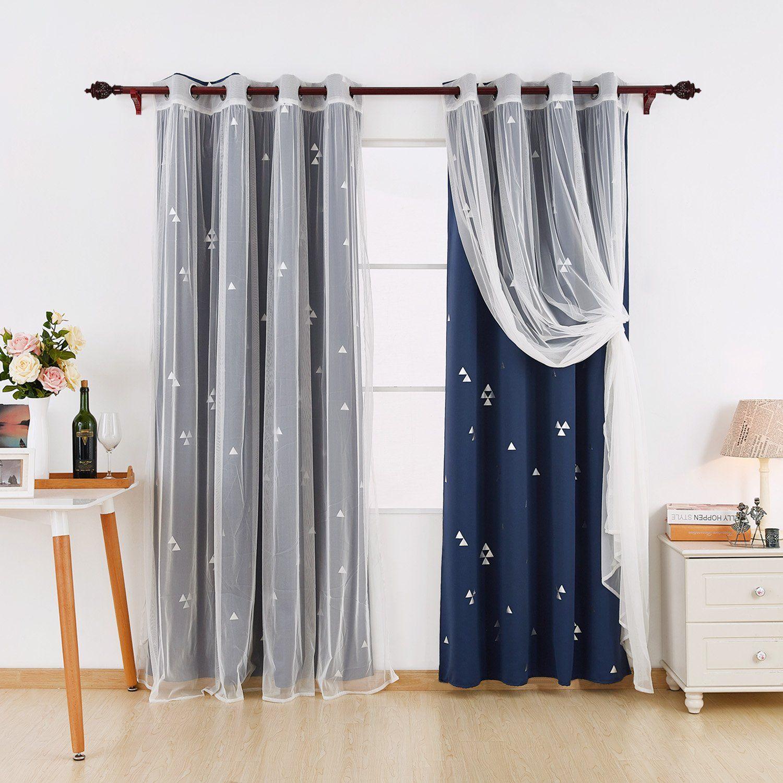 deconovo mix and match curtain set