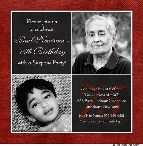 Download Now 75th Birthday Invitations Ideas Download this - best of invitation text to birthday party