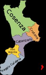 Regione Calabria Cartina Politica.Il Giro D Italia Con Le Regioni La Calabria Tuscanyagriturismogiratola Mappa Dell Italia Mappe Illustrate Calabria