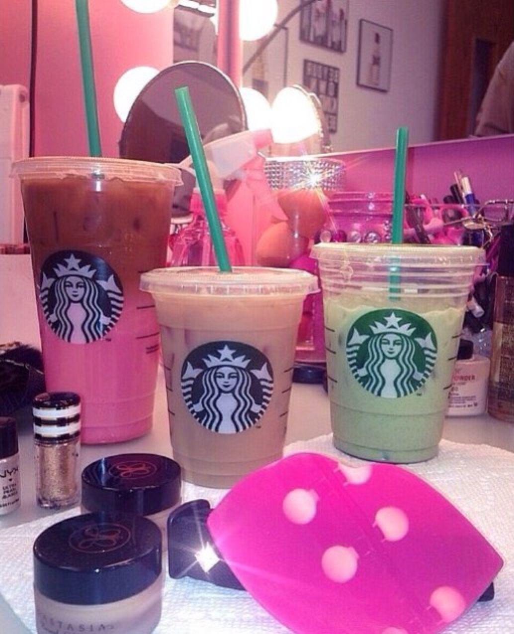 Colorful Starbucks Starbucks drinks, Starbucks coffee