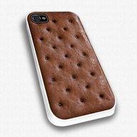 Ice Cream Sandwich iPhone 4 Case…so cool :)
