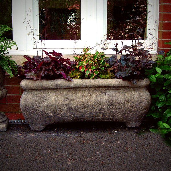 Stone Garden Planters And Troughs Catalan stone large garden trough garden troughs gardens and shrub catalan stone large garden trough workwithnaturefo