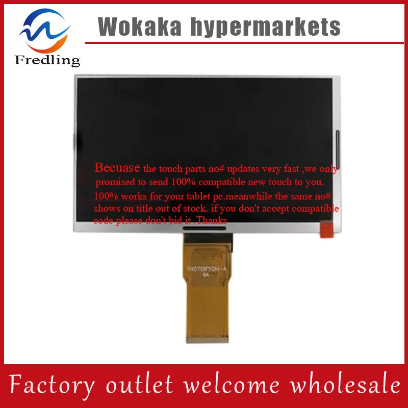 Original 7 Inch Yh070if50h A Lcd Display Matrix Tablet