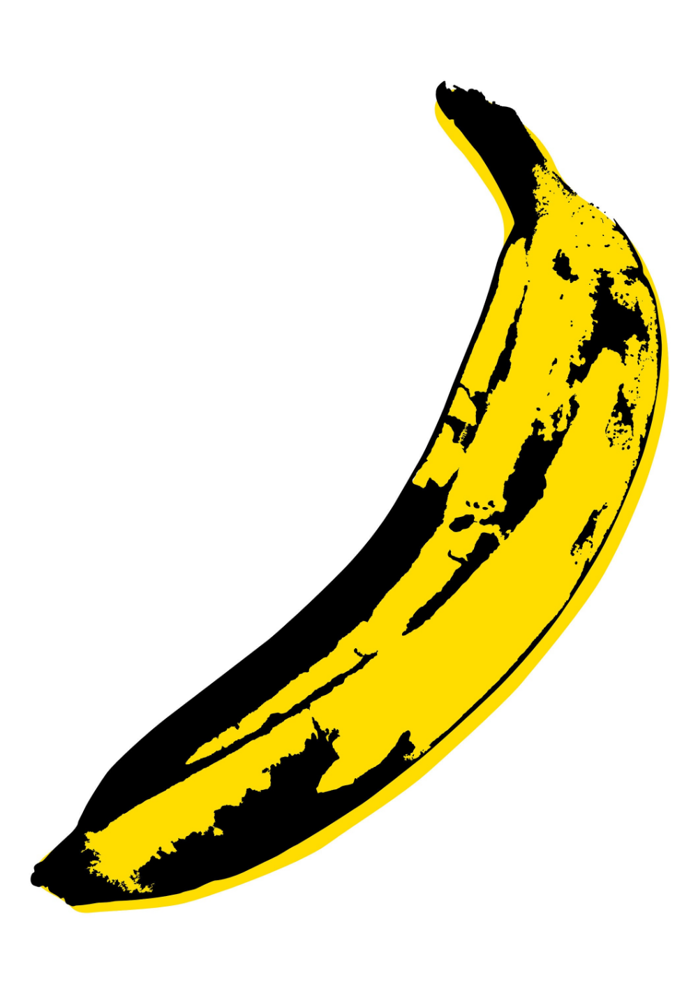 Pop Art Print Modern Art Banana Print Pop Art Poster Andy Warhol Print Velvet Underground Poster Pop Art Decor Pop Art Wall Art Banana Art #andywarhol
