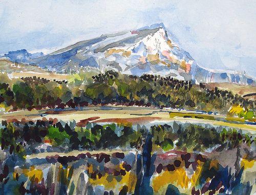 La Montagne Sainte Victoire France Paul Cezanne Paul Cezanne